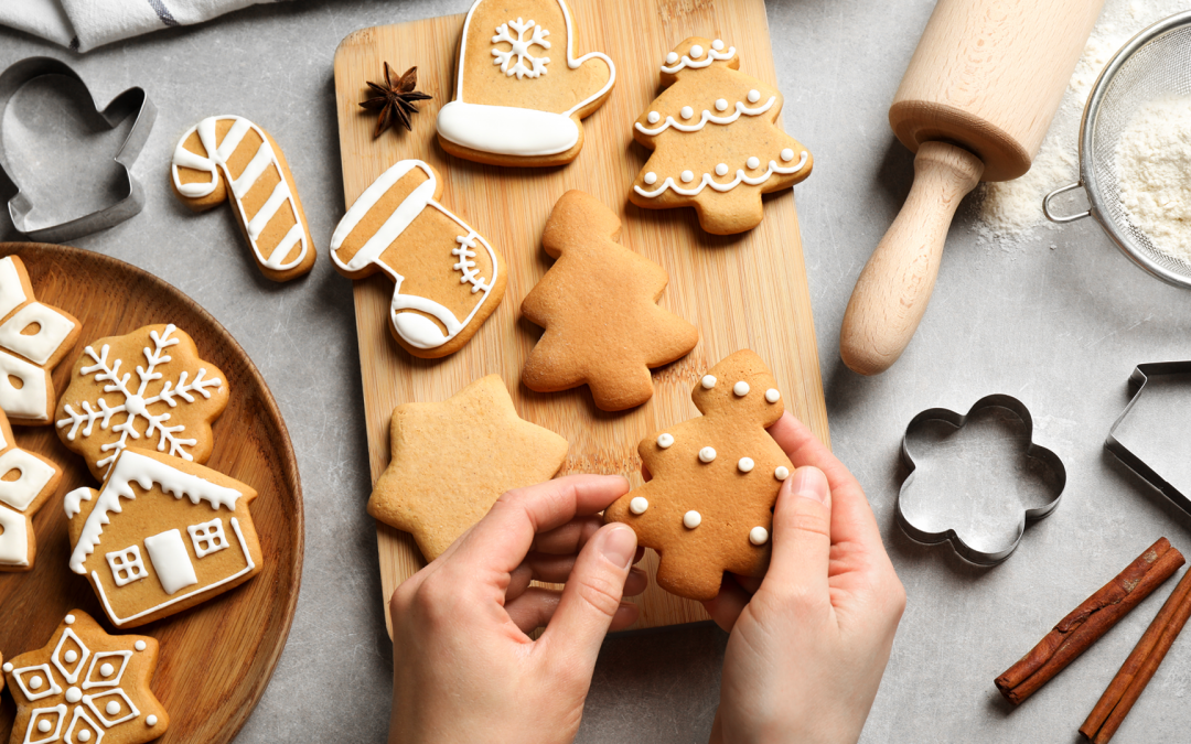 Healthier Holiday Cookies for Christmas