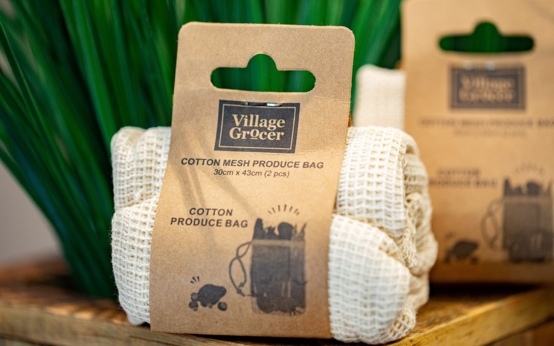 Make The Switch To Cotton Mesh Produce Bags